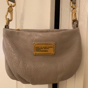 Marc Jacobs taupe crossbody